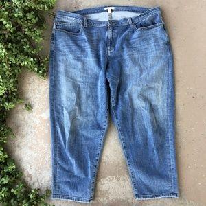 Eileen Fisher Organic Cotton High Waist Jeans